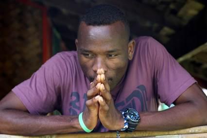Abdul Aziz Muhamat, held in Manus camp for six years. Photo: Michael Green