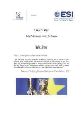 ESI report: Under Siege